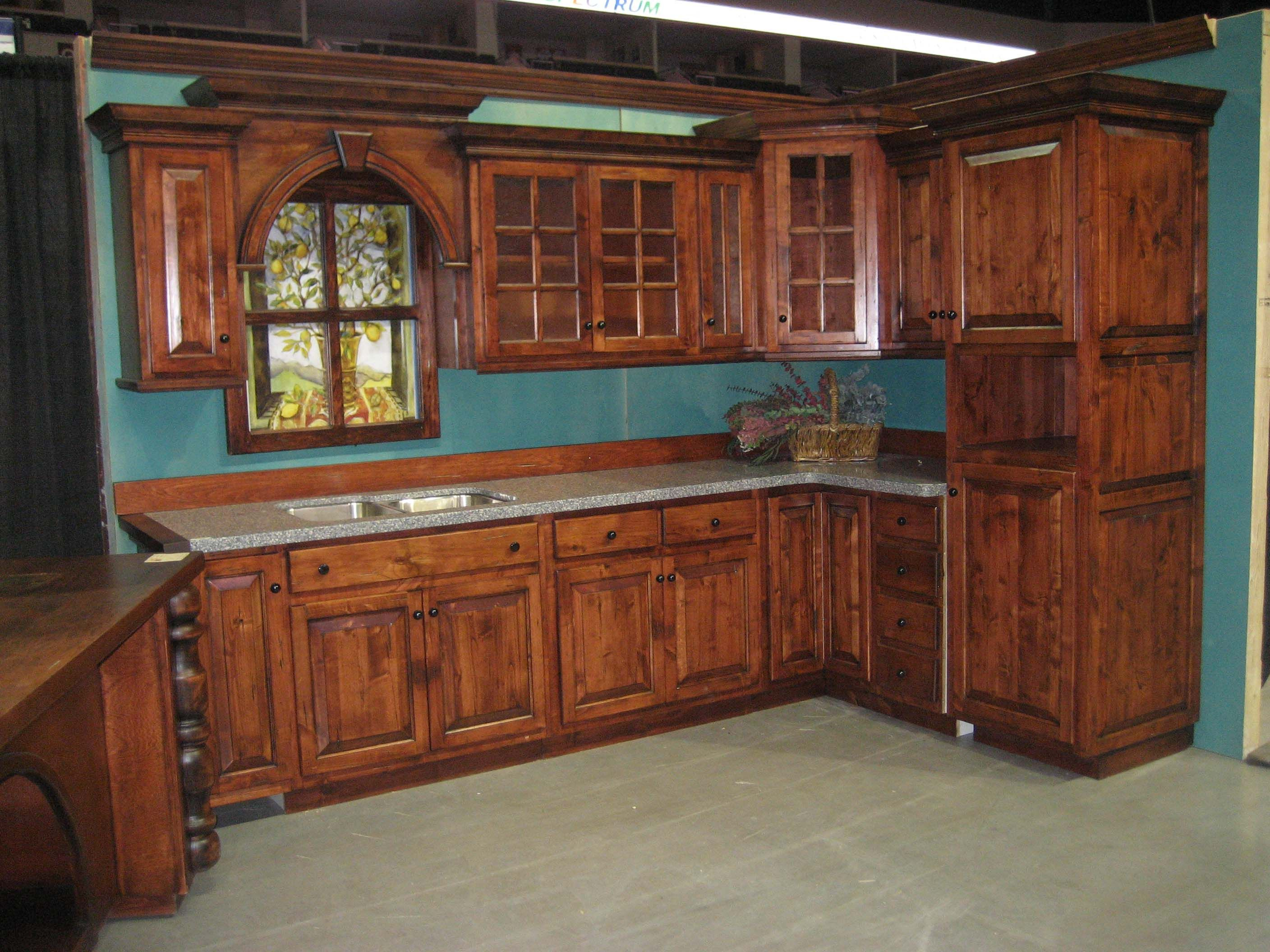 These cabinets are not