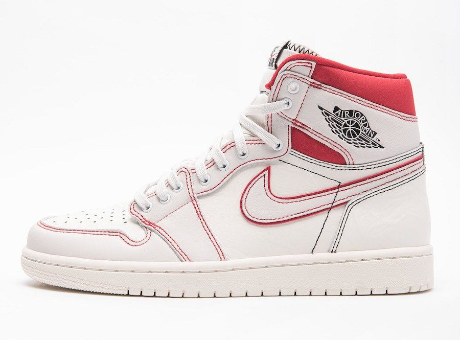 5deda5c2691 Air Jordan 1 Retro High OG Sail University Red | Sneaker Releases in ...