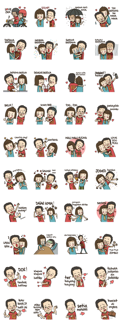 Stiker Line Lucu : stiker, Jefry, Yantono, Lucu,, Stiker,, Perasaan