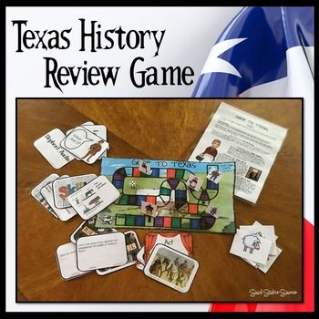 Texas History 7th Grade End Of The Year Review Game Social