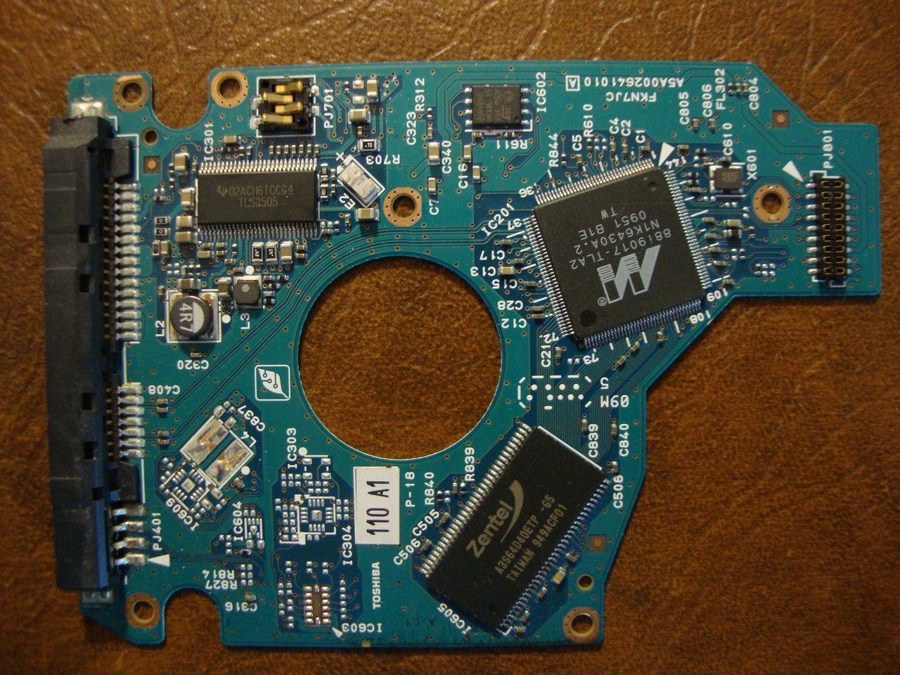 Toshiba MK6465GSXW (HDD2H81 W RL01 T) 010 A0/GJ003A G002641A 640gb Sata PCB - Effective Electronics #data recovery #hard drive repair #computer repair #hard drives #hard drive parts #toshiba