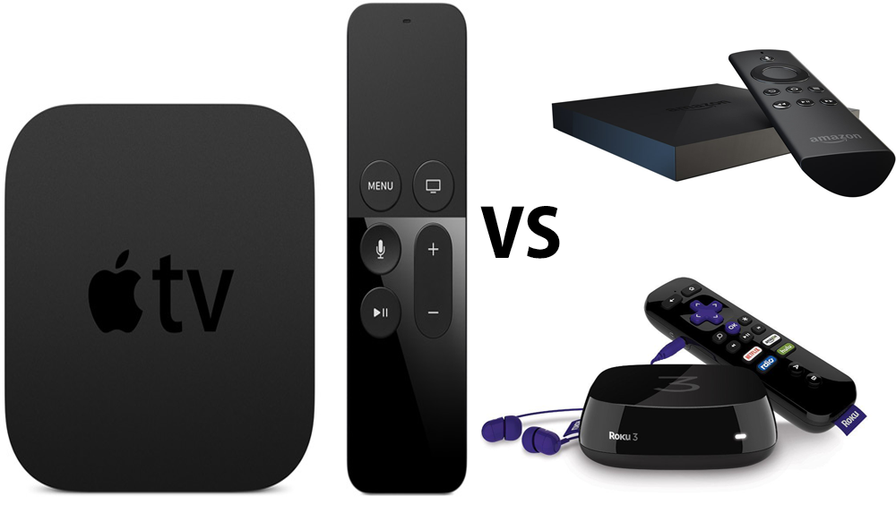 Comparing the New Apple TV to the Roku and Fire TV Apple