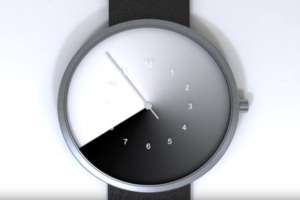 Este relógio esconde as horas para você viver o presente
