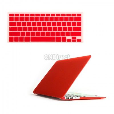 """$4.73 Case Cover For Mac Book Air 11"""" Keyboard Cover 11 Inch Red"""