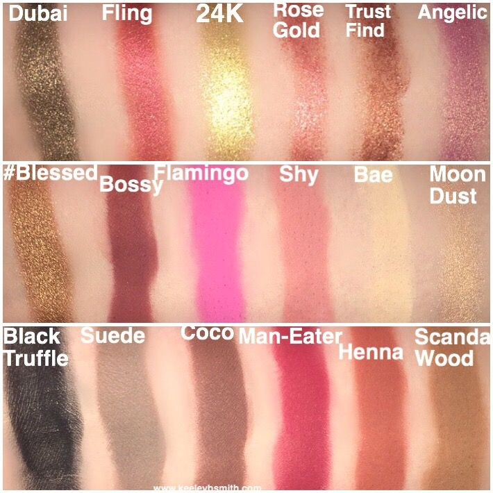 Huda Beauty Textured Rose Gold Palette Review And Swatches Click