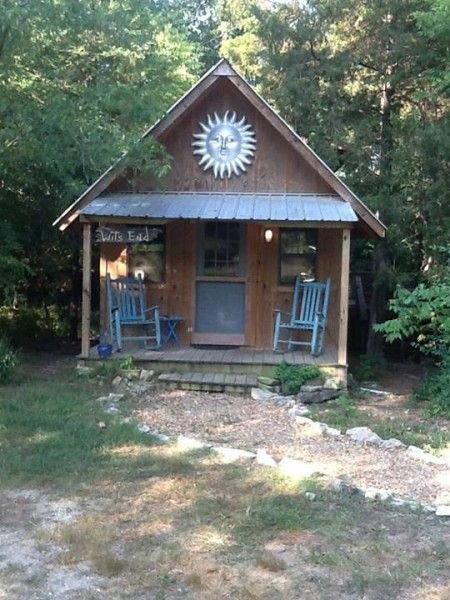 Tiny Cabin You Can Rent For Vacation In Arkansas Cabin
