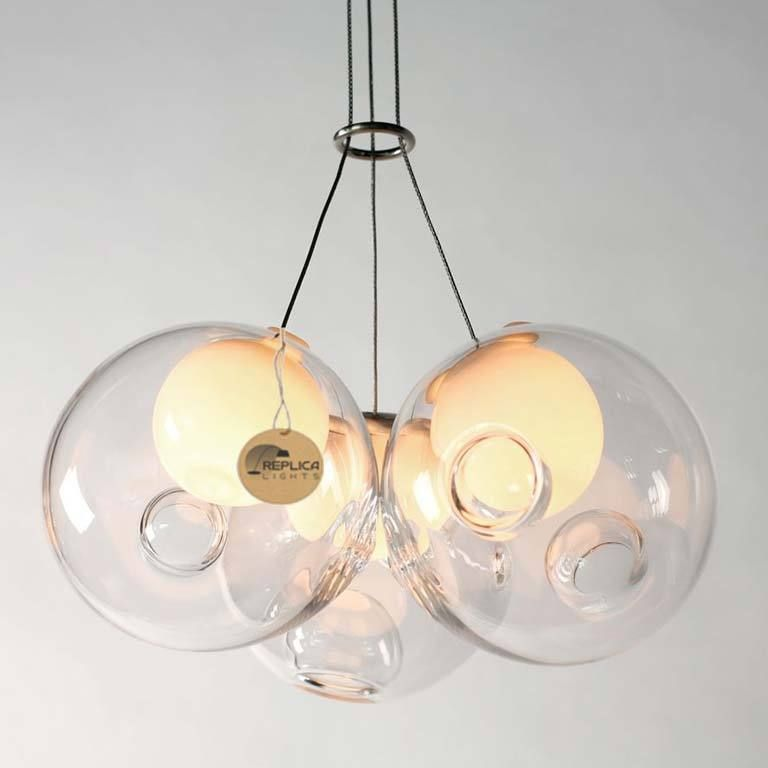Replica Bocci 283 LED Omer Arbel Glass Ball Pendant