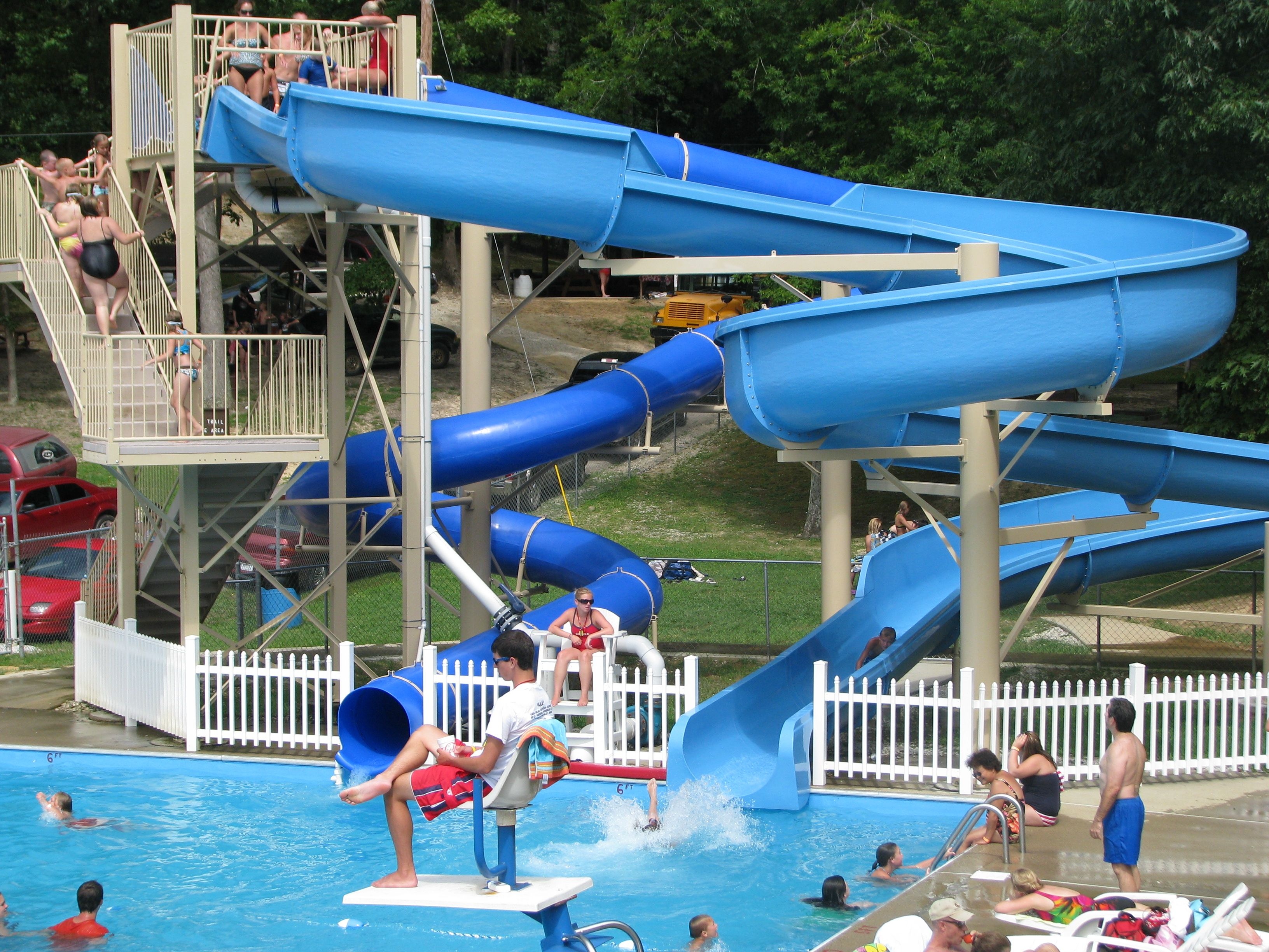 Waterways in julian wv tourism family fun golf - Swimming pools with slides north west ...