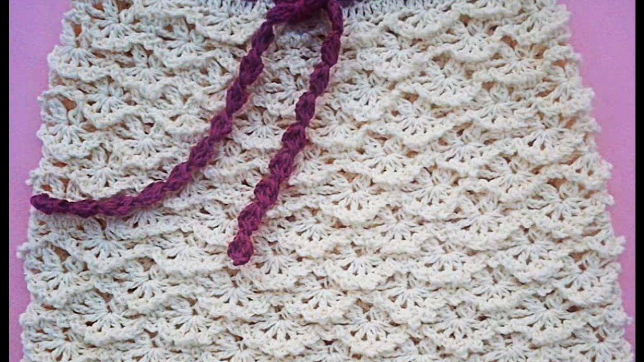 Falda a crochet para niña paso a paso muy fácil y rápido | faldas ...