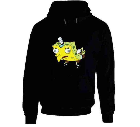 Usacloth Line Linkedin In 2020 Funny Hoodies Meme Shirts Mocking Spongebob