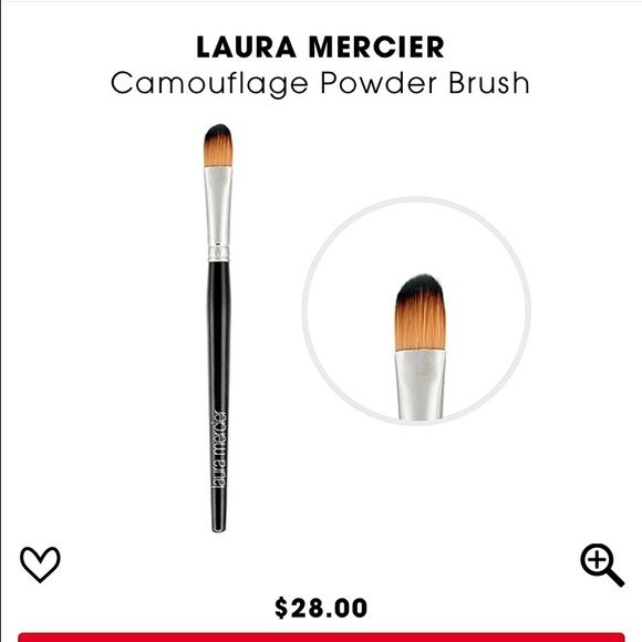Laura Mercier❤️camouflage powder brush Used once and washed. Like new! Laura Mercier Makeup Brushes & Tools