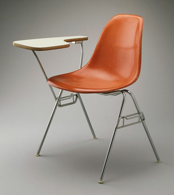 Molded Fibergl Chair 1950 1953 Lacma Collections