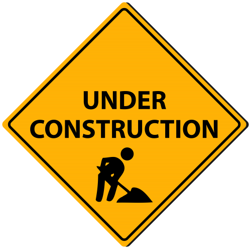 Triangle Under Construction Sign Png Clipart Construction Signs Signs Under Construction