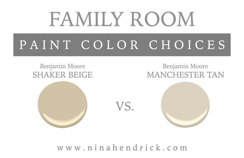 New England Neutral Paint Color Scheme Shaker Beige Shaker Beige Benjamin Moore Neutral Paint Colors Benjamin Moore