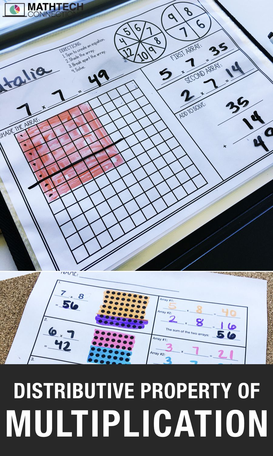 4 Activities To Review The Distributive Property Of Multiplication Distributive Property Of Multiplication Distributive Property Properties Of Multiplication [ 1500 x 900 Pixel ]