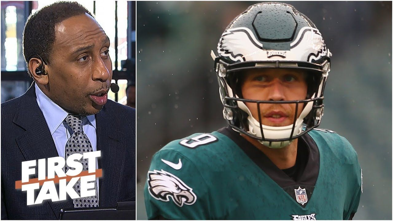 Nick Foles And The Eagles Have Slim To No Chance Vs Bears Stephen A L First Take Basketball News Stephen Slim
