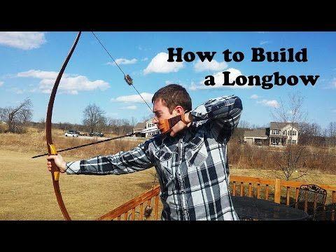 How to Build a Reflex Deflex Longbow (Hybrid Longbow