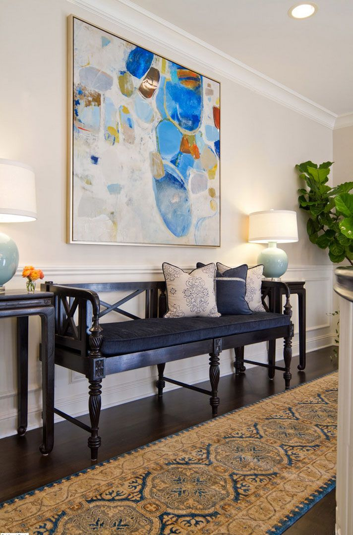 Decorating With Abstract Art EJ Interior Design Struck The Right