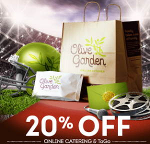 Olive Garden Coupon 20 off Catering and ToGo on http