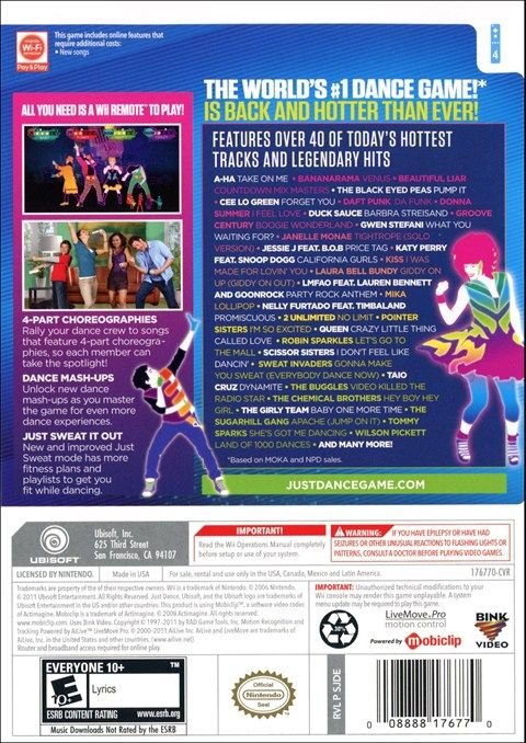 Just Dance 3 Wii Video Game | Buy Just Dance 3 for Wii | Rent Just Dance 3 - www.gamefly.com