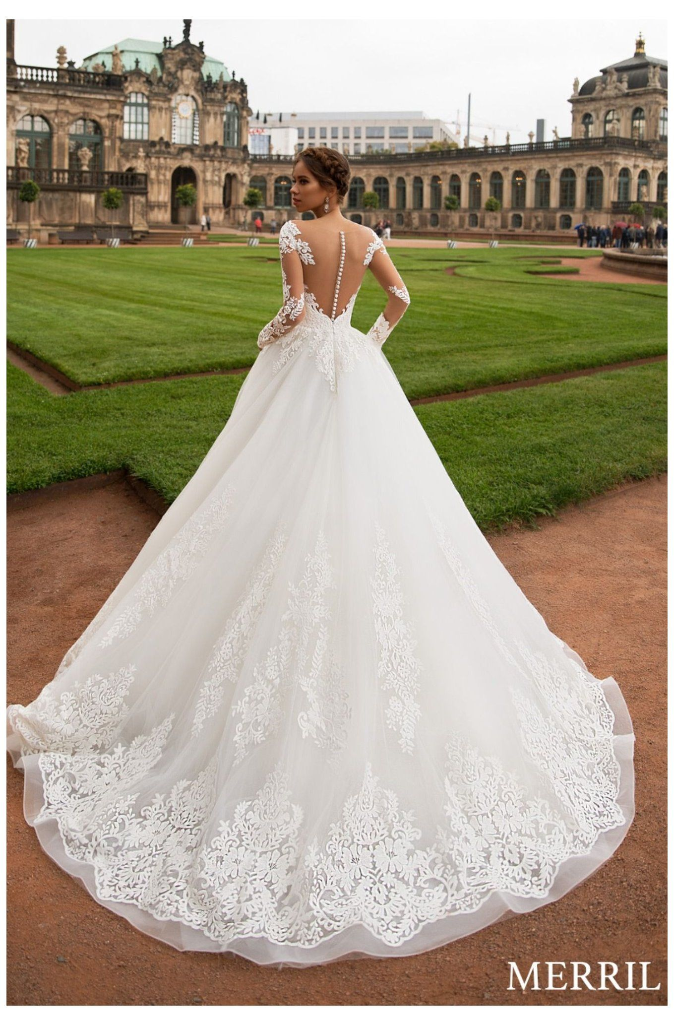 Merril Wedding Dress Royal Promenade Collection Elegant Wedding Dress C Elegant Wedding Dress Ballgown Elegant Wedding Dresses Lace Fancy Wedding Dresses [ 2066 x 1359 Pixel ]