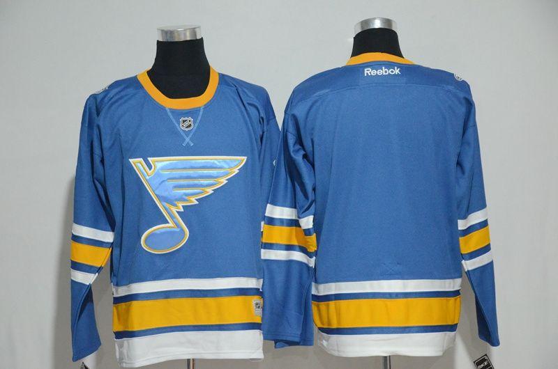 NHL Jerseys Mens St. Louis Blues Blank Hockey Jerseys  66675d0bc