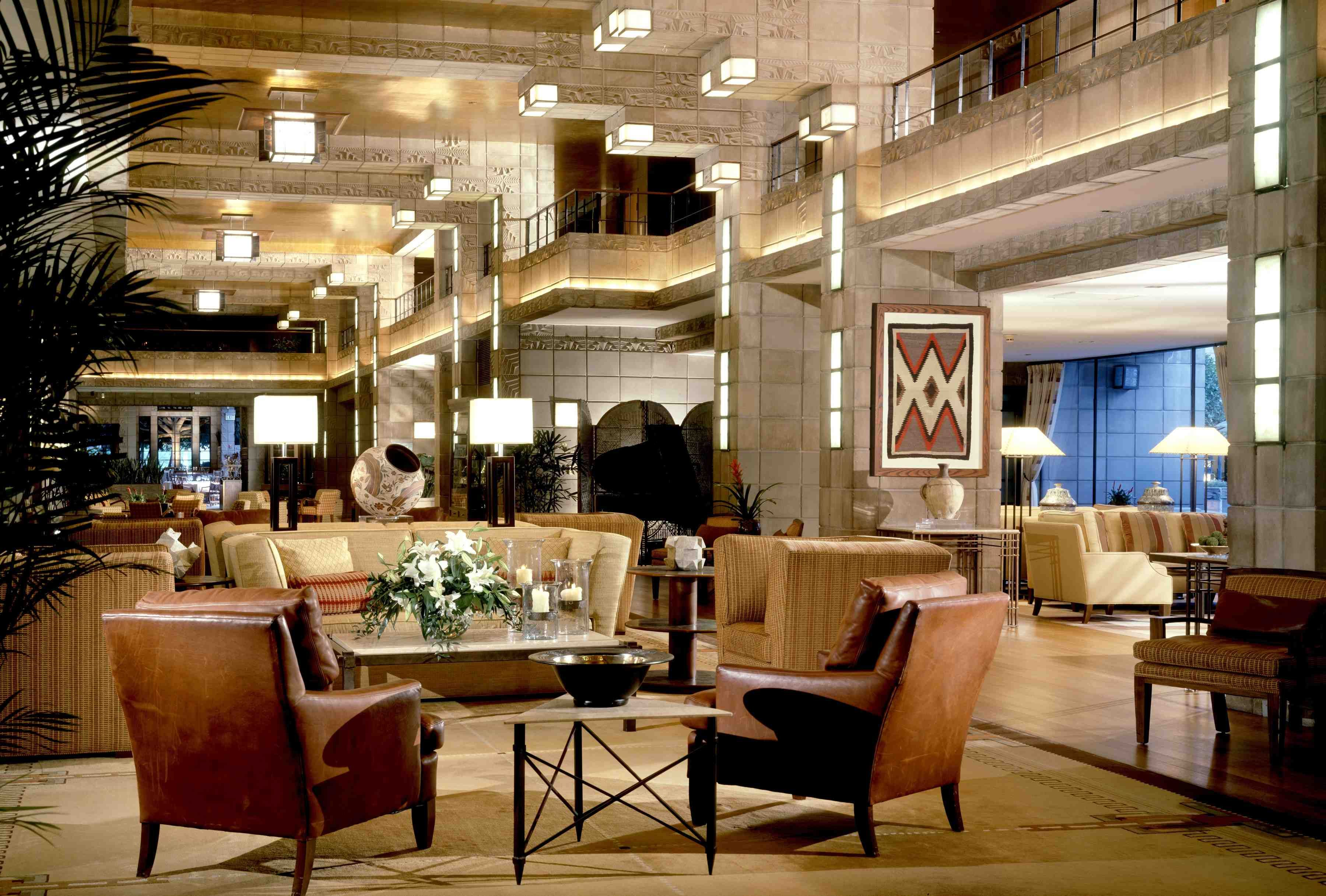 Arizona Biltmore Hotel Lobby By Frank Lloyd Wright