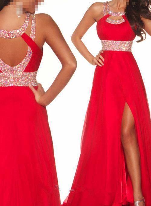 Red Prom Dresses Ebay - Ocodea.com