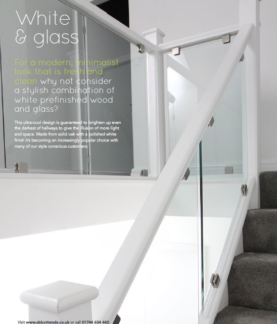 Best White Glass Glass Staircase White Staircase Stair 400 x 300