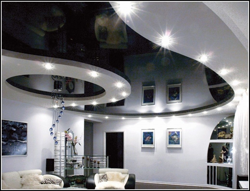 Konstruktion Abgehängte Decke Mit Indirekter Beleuchtung