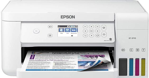 Epson Ecotank Et 3710 Driver Software Downloads In 2020 Epson Ecotank Epson Inkjet