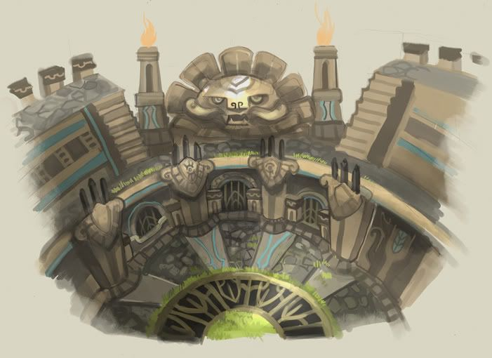 Colosseum Concept Art Google Search Boss Chamber