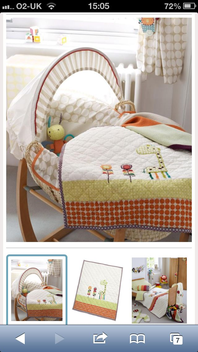 Baby Bedding Mamas And Papas Jamboree Collection