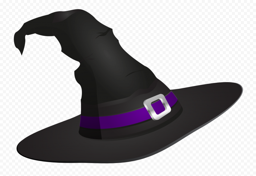Hd Halloween Witch Hat Illustration Cartoon Clipart Png Halloween Witch Hat Witch Hat Cartoon Clip Art