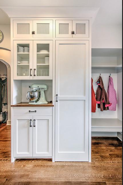 Stand alone short wall cabinet idea- Kitchen | Kitchen | Pinterest