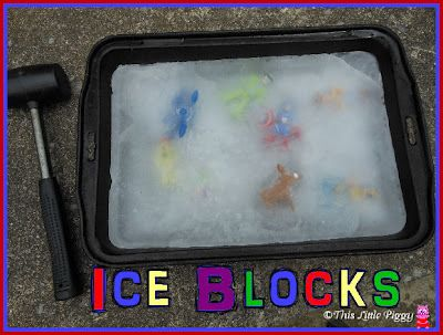 Daily Dose of Delight: Ice Blocks