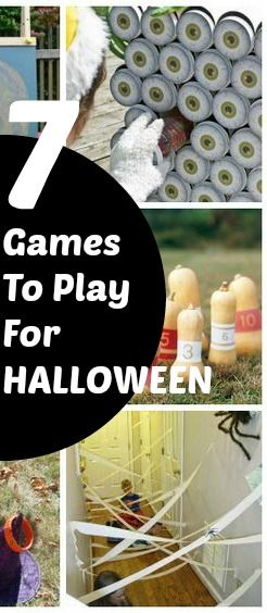 7 Halloween Games For Younger Children Halloween night, Party - halloween decorations party