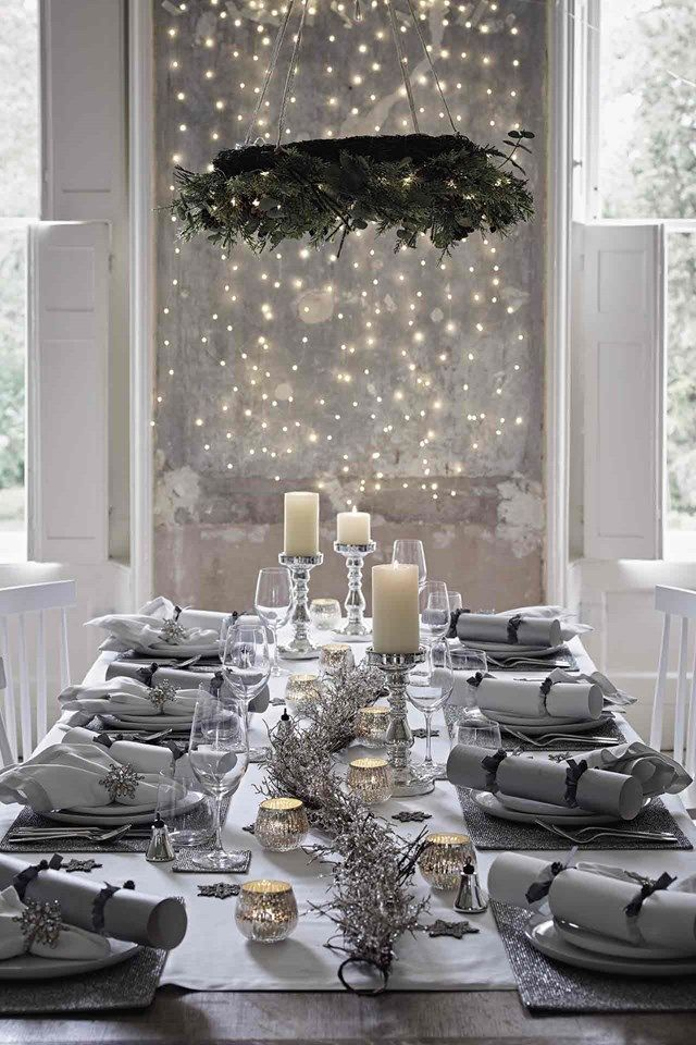 Event Christmas With The White Company Christmas Dining Table Unique Christmas Decorations Christmas Table Decorations