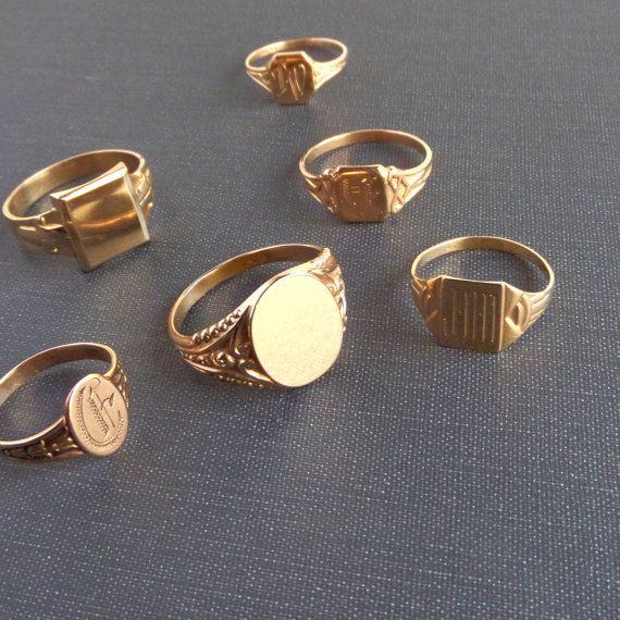 Photo of Signet Rings – Honestly WTF
