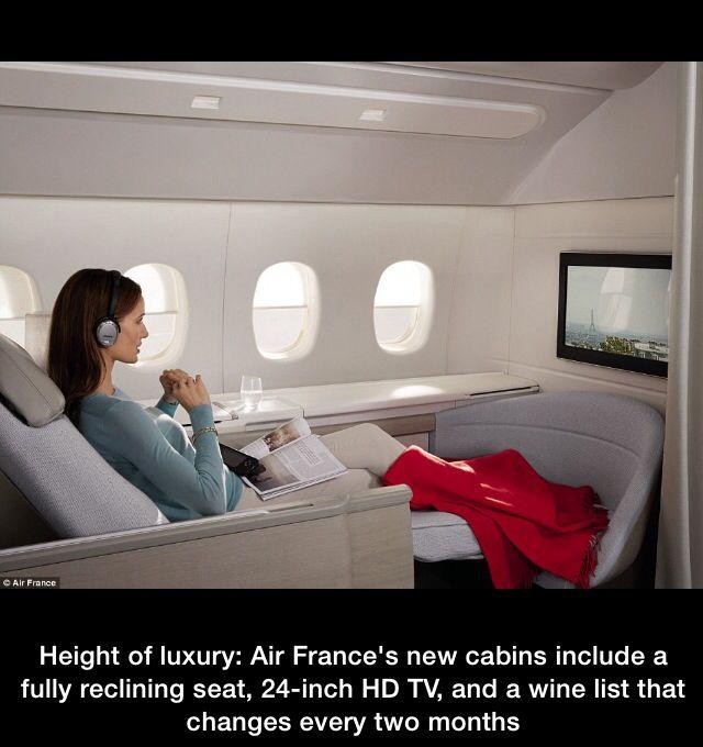 Travel Air France La Premiere Cabin Air France First Class