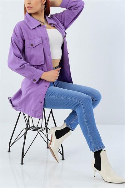 27102 Turkiye Nin En Hesapli Bayan Giyim Sitesi Modamizbir Com 2020 Moda Moda Stilleri Kot Ceket
