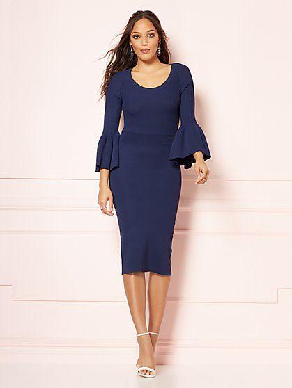 Frieda Sweater Dress - Eva Mendes Fiesta Collection - New York u0026 Company