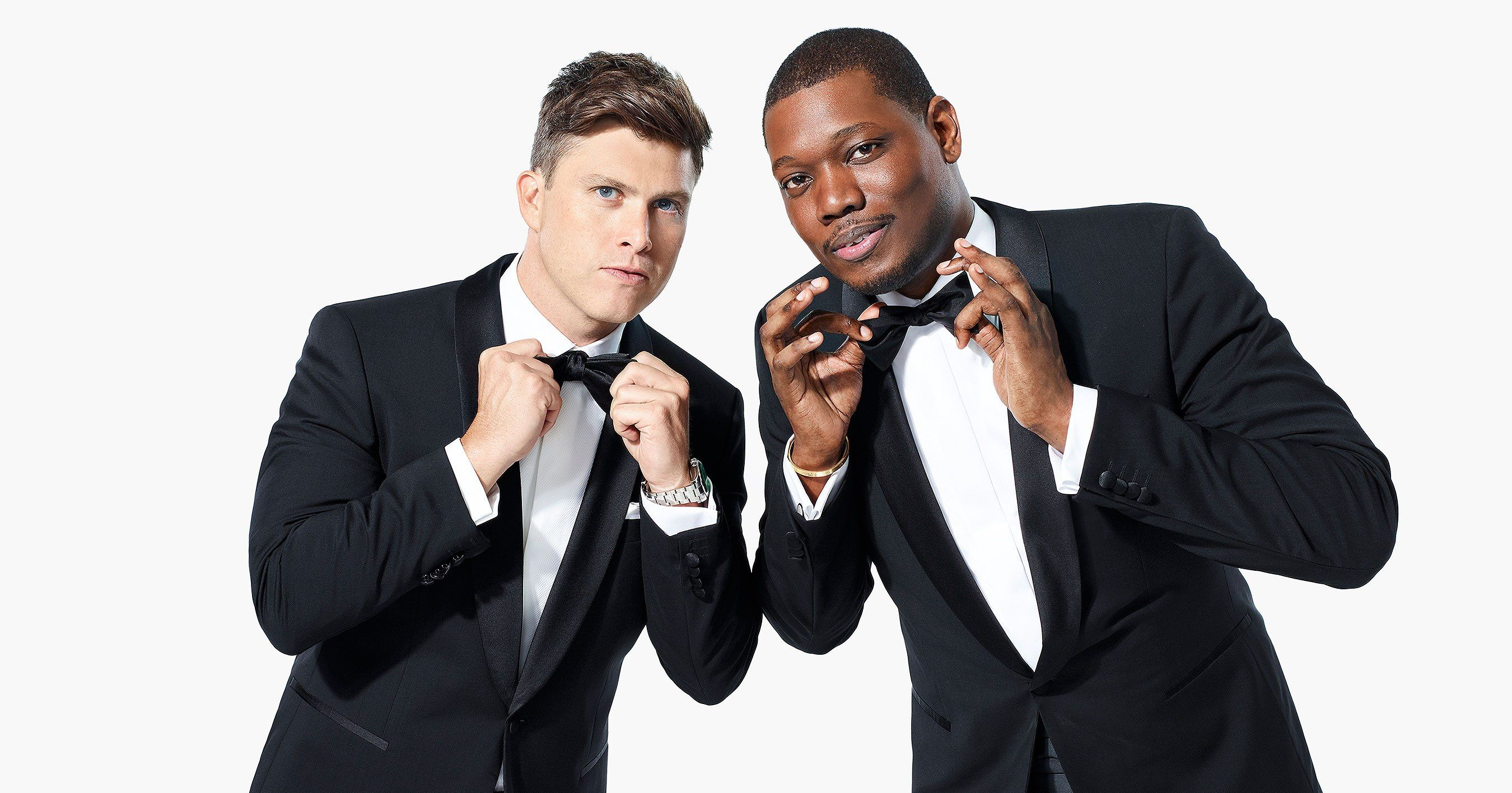 Colin jost jokes that the emmys will feature two long sean
