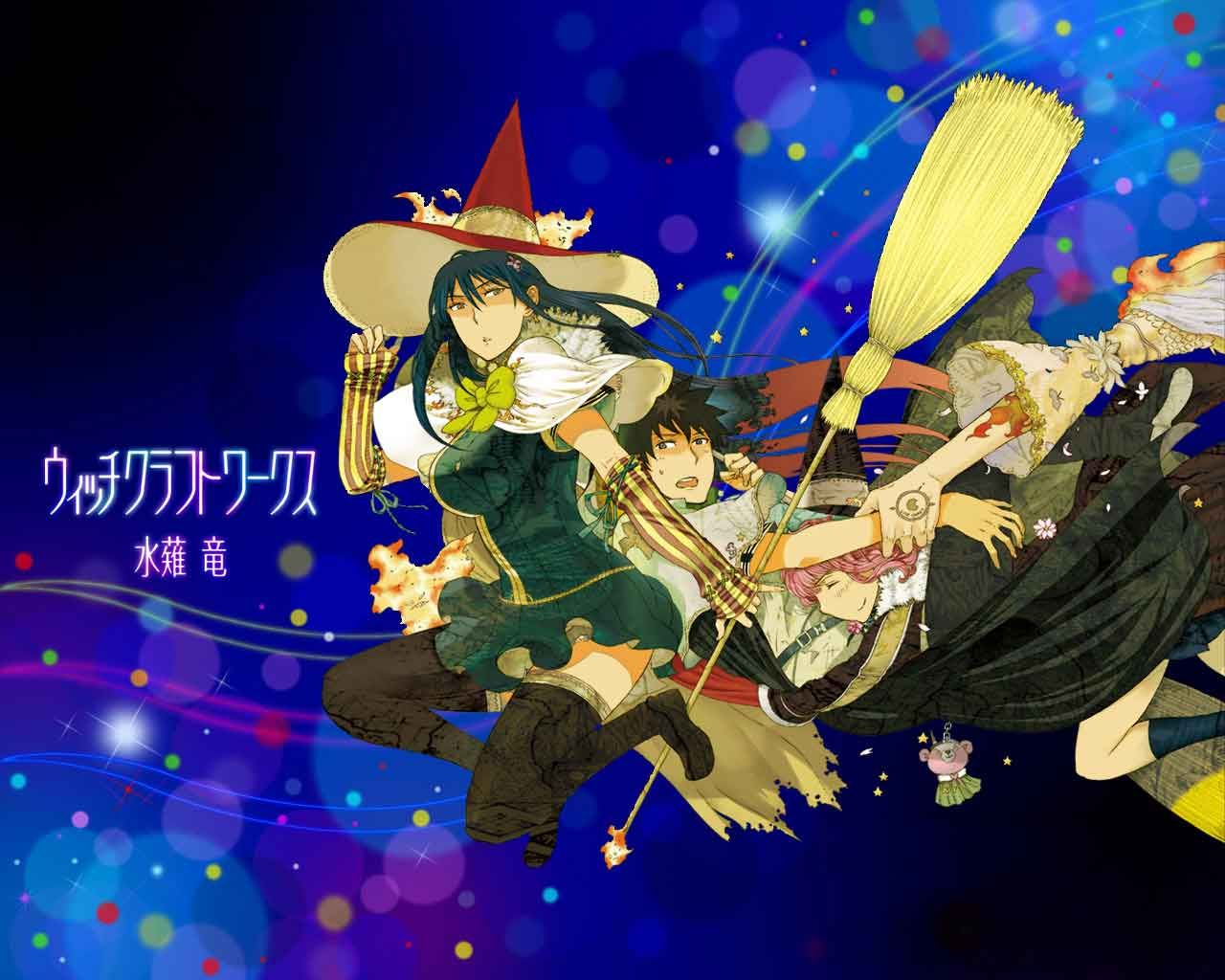 Witch Craft Works Wallpaper japanese drama, anime, movie