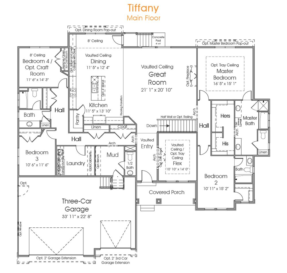 Tiffany Floor Plans How To Plan House Plans