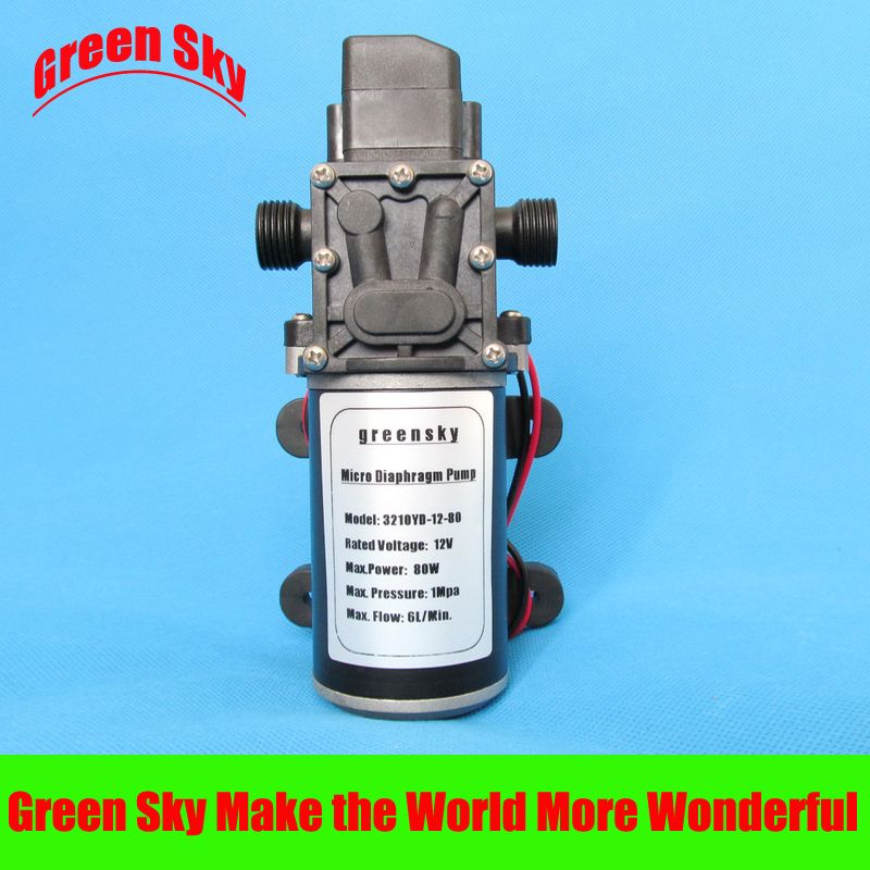 6l Min 12v Dc 80w Automatic Pressure Switch Type Diaphragm Pump 12v Diaphragm Pump Irrigation Garden Irrigation