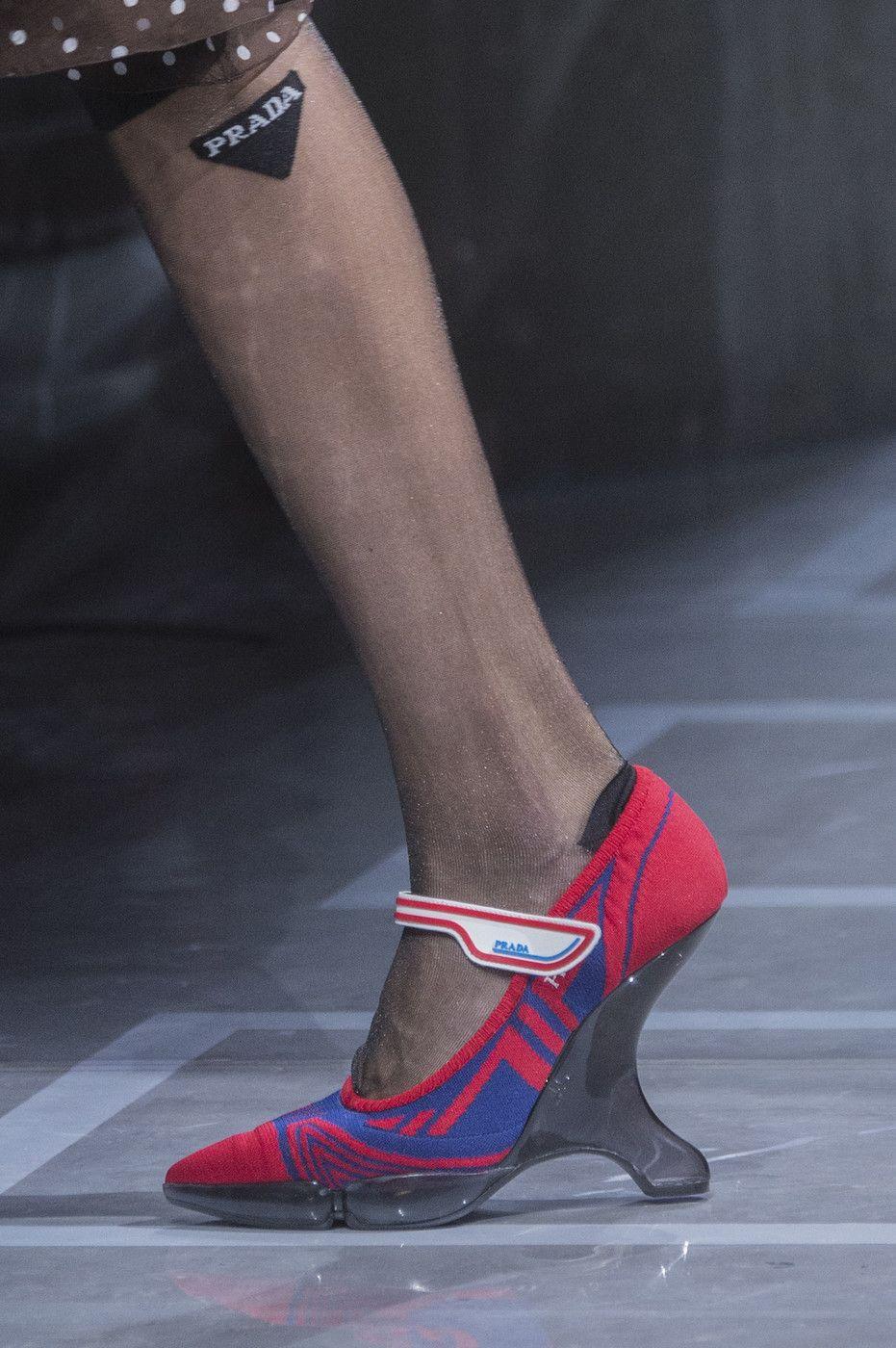 002a62afecf9 Prada at Milan Fashion Week Spring 2019 in 2019 | Shoes with great ...