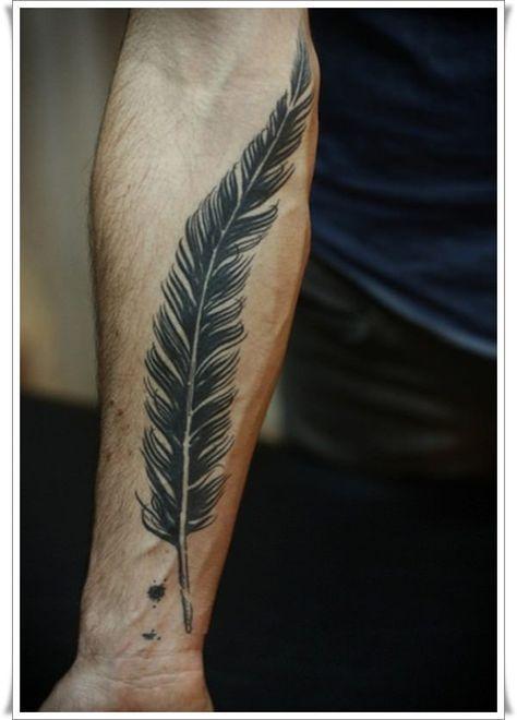 Tatuajes Para Hombres Tatuajes De Plumas Tatuaje Hombre Muneca Diseno De Tatuaje De Pluma