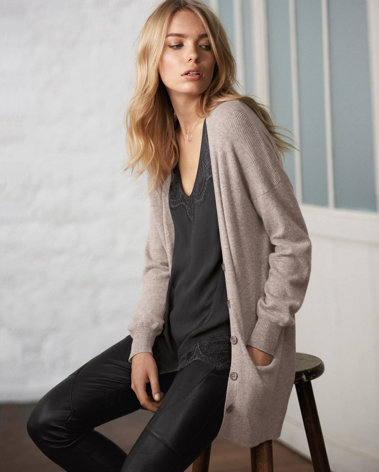 Wrap London | Mia cashmere cardi | w o r n (cool) | Pinterest ...
