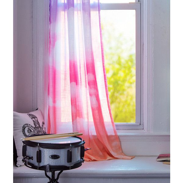 Aeropostale Cloud Window Panel ($9.99) ❤ Liked On Polyvore Featuring Home, Home  Decor